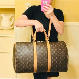 Louis Vuitton Bags - Authentic Louis Vuitton Keepall 50 #8.7z